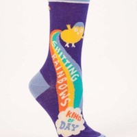 Shitting Rainbows Kind Of Day Women's Socks