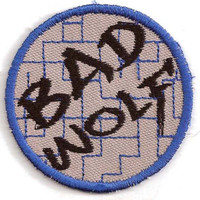 Bad Wolf Patch - inspired by Doctor Who