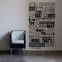 Rocky Balboa Mural - G Direct Wall Stickers
