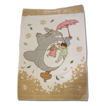 Totoro Summer Blanket  -- Flying in the Sky