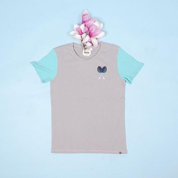 bwgh x puma racquet tee frost grey  number 1