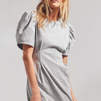 Silence + Noise Celeste Balloon-Sleeve Mini Dress - Urban Outfitters