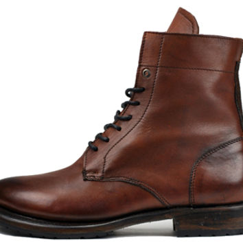 SUTRO® Mendelle Lace-Up Bootie - Redwood