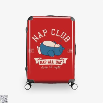 Snorlex Nap Club, Pokemon Suitcase
