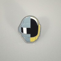 SPLIT HELMET ENAMEL PIN | Daft Punk US Shop