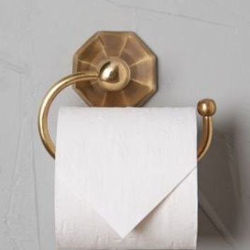 Brass Circlet Toilet Paper Holder by Anthropologie in Antique Brass Size: Toilet Paper Holder Bath