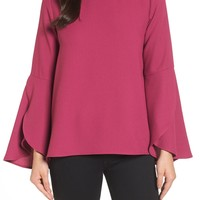 Halogen | Bell Sleeve Top (Regular & Petite) | Nordstrom Rack