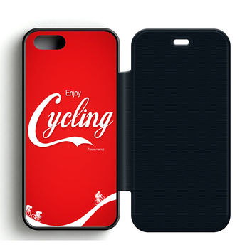 Enjoy Cycling Flip iPhone 5 | 5S Case