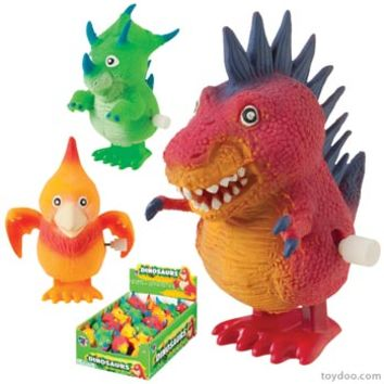 Dinosaur Wind-Ups - Toysmith - Pack of 24 ea