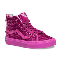 Kids Shimmer SK8-Hi Zip | Shop Kids Shoes At Vans