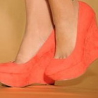 Tanny's Couture — Coral wedges