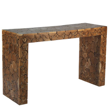 Teak Wood Console Table
