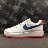 Nike Air Force 1 AF1 Low White Habanero Red Sport Shoes - Best Online Sale