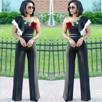 Women's Cold Shoulder Jumpsuit