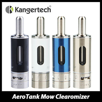Kanger AeroTank Mow Tank Atomizer Airflow Control Pyrex Glass Clearomizer 1.8ml E-liquid Capacity ecig with New Dual Coil 1.5ohm