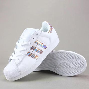 Adidas Superstar Women Men Fashion Casual Low-Top Old Skool Shoes-3