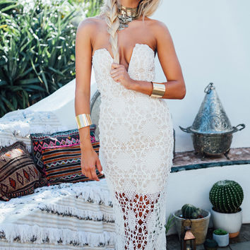 Marrakech Gown - Ivory | SABO SKIRT