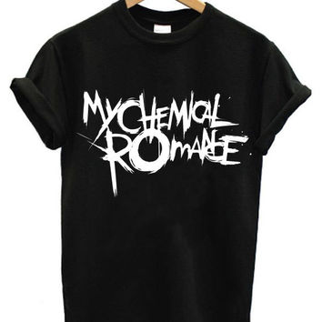 My chemical romance mcr shirt band merch sizes S M L XL XXL band tshirt