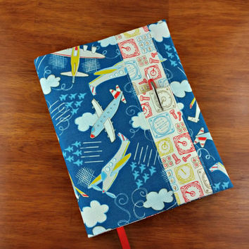 Airplanes and Gadgets Composition Notebook Cover