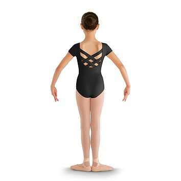 Strap Back Cap Sleeve Leotard CL8832 by Bloch
