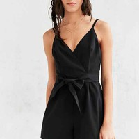 Finders Keepers Bow Your Mind Romper