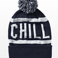 """Chill"" Pom Pom Hat  - Scarves & Hats - Garage"