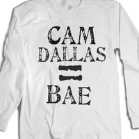 cam dallas=bae-Unisex White T-Shirt
