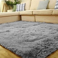 80*120cm Living Room Floor Mat/cover Carpets Floor Rug Area Rug [Gray]
