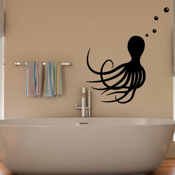 Vinyl Wall Decal Sticker Octopus #OS_MB368
