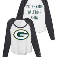 Green Bay Packers Baseball Raglan Tee - PINK - Victoria's Secret