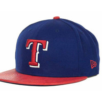 Texas Rangers MLB Snake Thru 9FIFTY Strapback