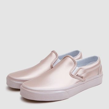 Vans / Classic Slip On in Metallic Rose Gold