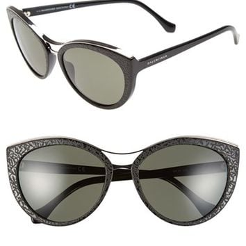 Women's Balenciaga Paris 'BA0033' 57mm Cat Eye Sunglasses