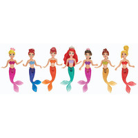 Disney Princess The Little Mermaid Sisters Dolls, 7-Pack