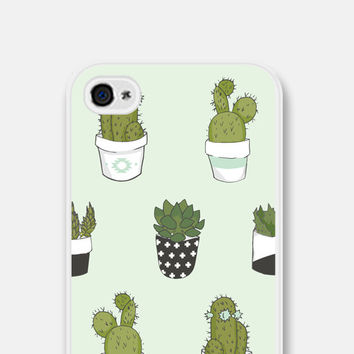 iPhone 6 Case - iPhone 5 Case - Cactus iPhone 5 Case - Mint Cactus iPhone 6 Case - Succulent iPhone 5c Case - Cactus Samsung Galaxy S4 - Cco