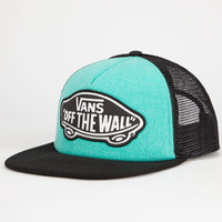 Vans Beach Girl Womens Trucket Hat Teal One Size For Women 25567303401
