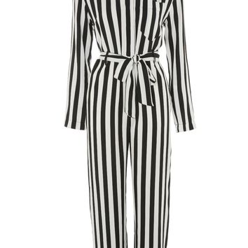 Humbug Striped Boiler Suit Romper - New In Fashion - New In