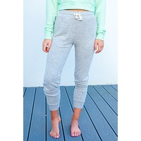 Night In Joggers: Heather Grey