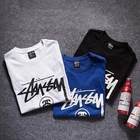 Stussy Woman Men Fashion Tunic Shirt Top Blouse