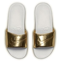 Nike Benassi Liquid Gold Metal Slide