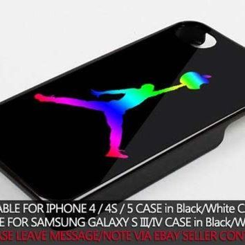 DCKL9 colorful nike jordan case for iPhone 4/4s/5/5s/5c/6/6+ case,iPod Touch 5th Case,Samsun