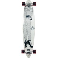 Bonnie & Clyde Longboard Skateboard Complete With Griptape