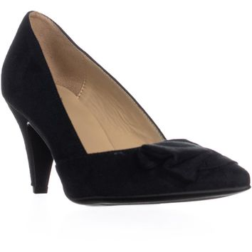 Naturalizer Molly Pointed Toe Cone Pumps, Black, 6 W US