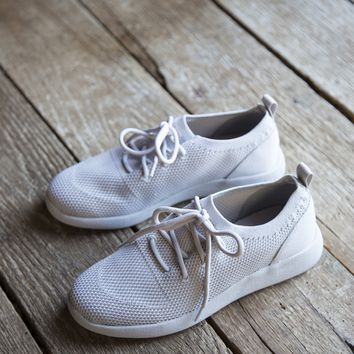 Pitch Lace Up Sneaker, Grey