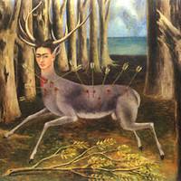 The Little Deer  by Frida Kahlo  Giclee Canvas Print Repro