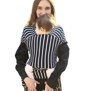 Toddler Backpack class 2017 Hot Selling Baby Wrap Sling Stretchy Newborn Infants Toddler Breastfeeding Breathable Carrier AT_50_3