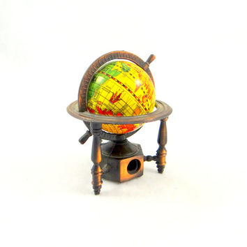 Vintage World Globe Pencil Sharpener