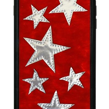 Red Velvet Silver Stars iPhone 6/7/8 Case