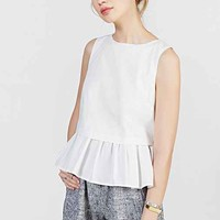 Alice & UO Sleeveless Layered Tank Top-
