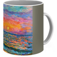 Burning Shore Coffee Mug for Sale by Kendall Kessler